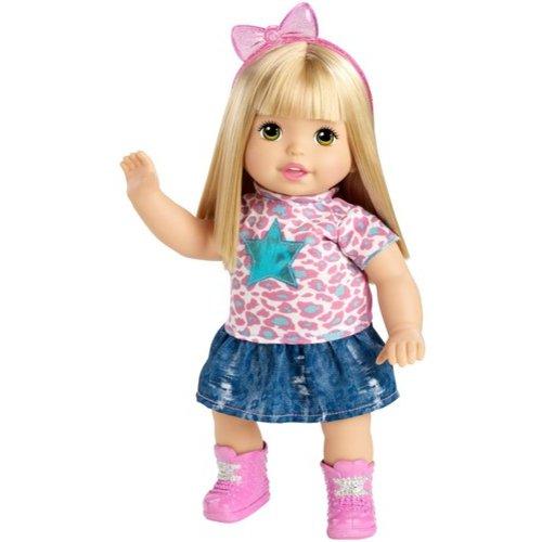 Mattel Little Mommy Sweet as Me Kitty Rock Doll