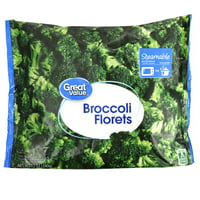 Great Value Broccoli Florets, 12 oz