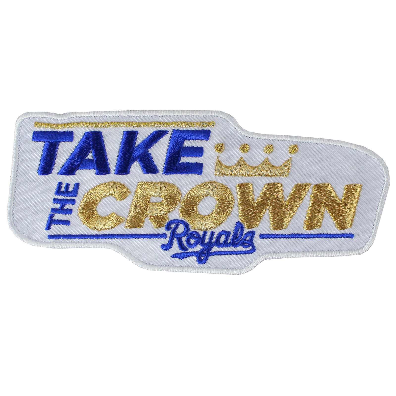 Kansas City Royals World Series 'Take The Crown' Jersey Patch