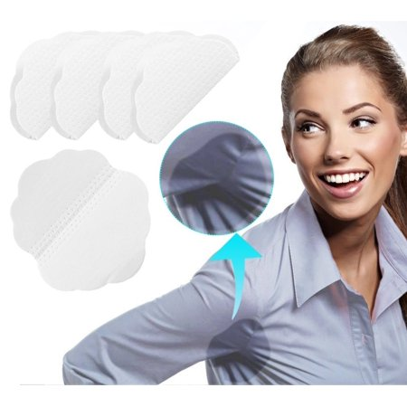 Disposable Dress Shields (60 Pieces Underarm Armpit Sweat Pads Disposable Perspiration Quincunx Shaped Pads Adhesive Underarm Shields Guard for Dress Shirt Clothing )