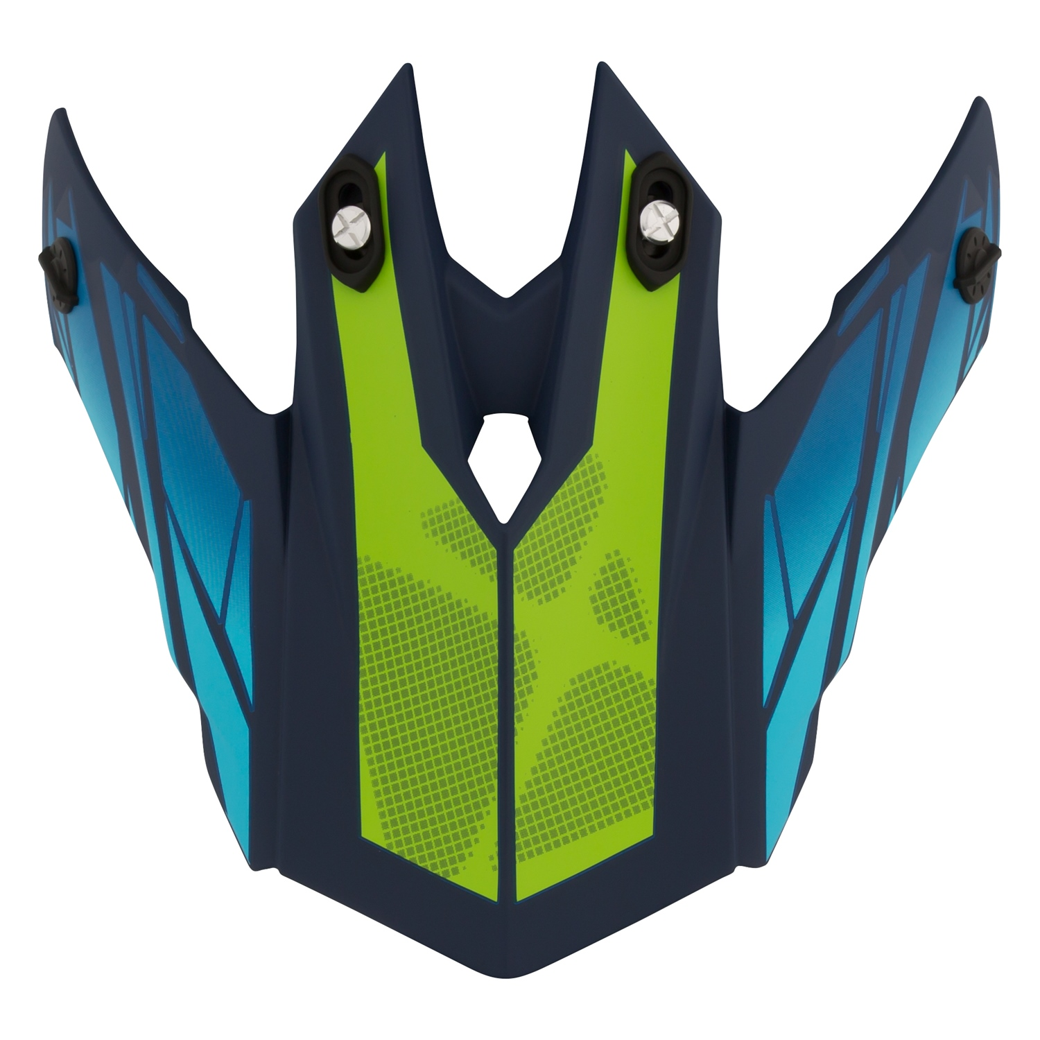 CKX Peak for TX228 Helmet Magma Matte Blue, Matte Green One Size Fits All #509860