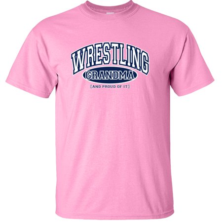 Wrestling Grandma and Proud of It T-Shirt