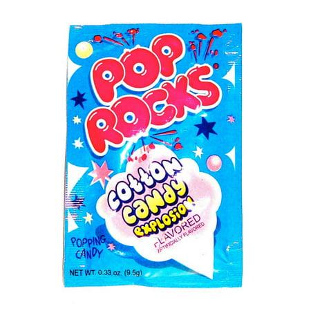 BAYSIDE CANDY POP ROCKS COTTON CANDY, PACK OF 12 POP ROCKS (Pop Rocks In Bulk)