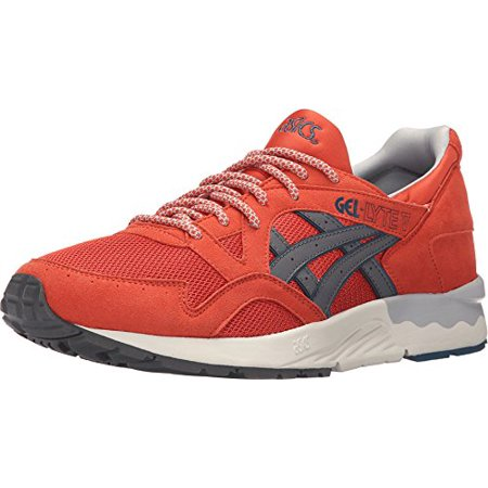 watch d7787 b2a4d Asics H6A2Y-2411:GEL-Lyte V 5 Chili/Grey Premium Comfort Youth/Adult  Sneaker (5.5 D(M) US Men)