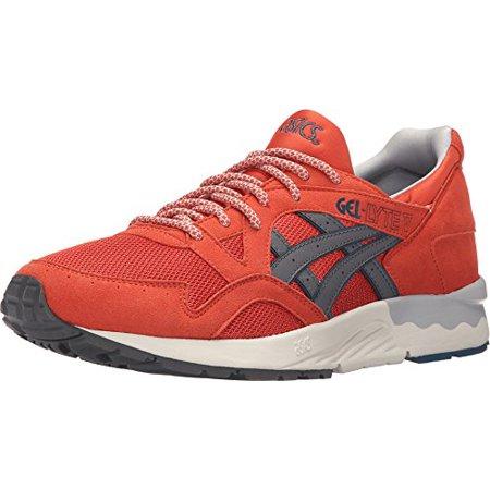 Asics H6A2Y 2411:GEL Lyte V 5 ChiliGrey Premium Comfort YouthAdult Sneaker (5.5 D(M) US Men)