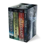 Divergent Series Set : Divergent, Insurgent, Allegiant, Four