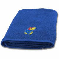 NCAA University of Kansas Bath Towel, 1 Each
