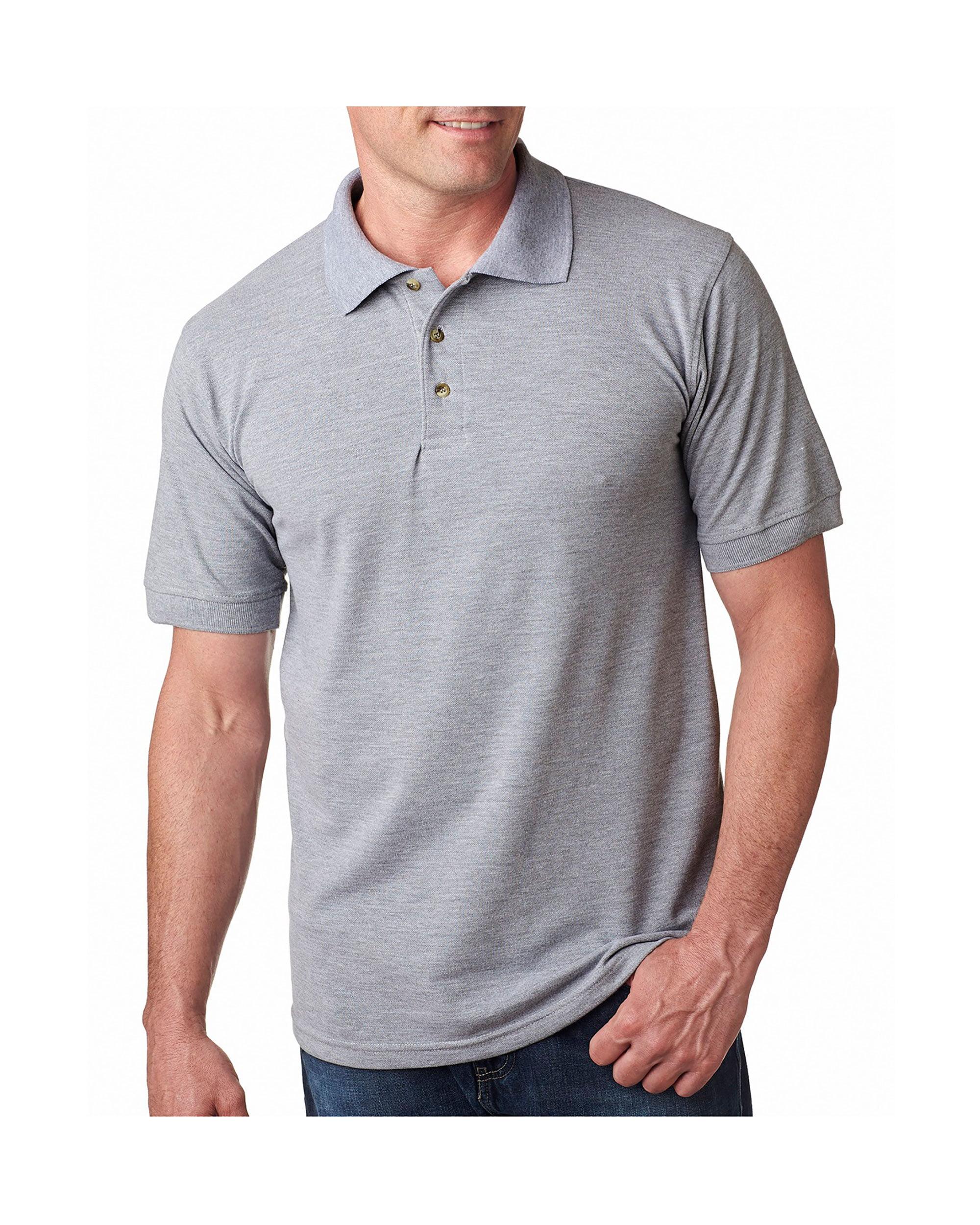 Bayside Adult Preshrunk American Style Pique Polo Shirt