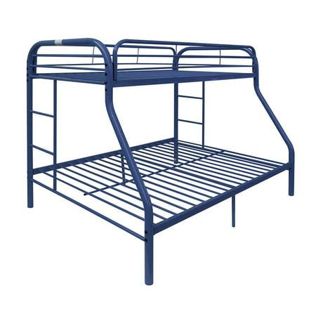 Acme Eclipse Twin Over Full Metal Bunk Bed Blue Walmartcom