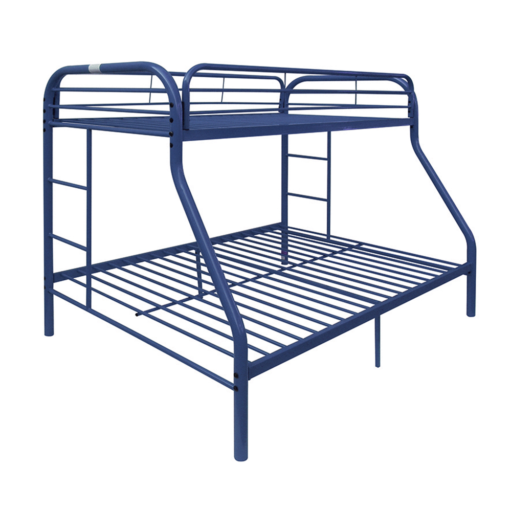 ACME Eclipse Twin Over Full Metal Bunk Bed, Blue