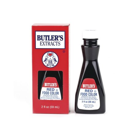 (Price/CS)Butler' Best 174210 Food Coloring, Red