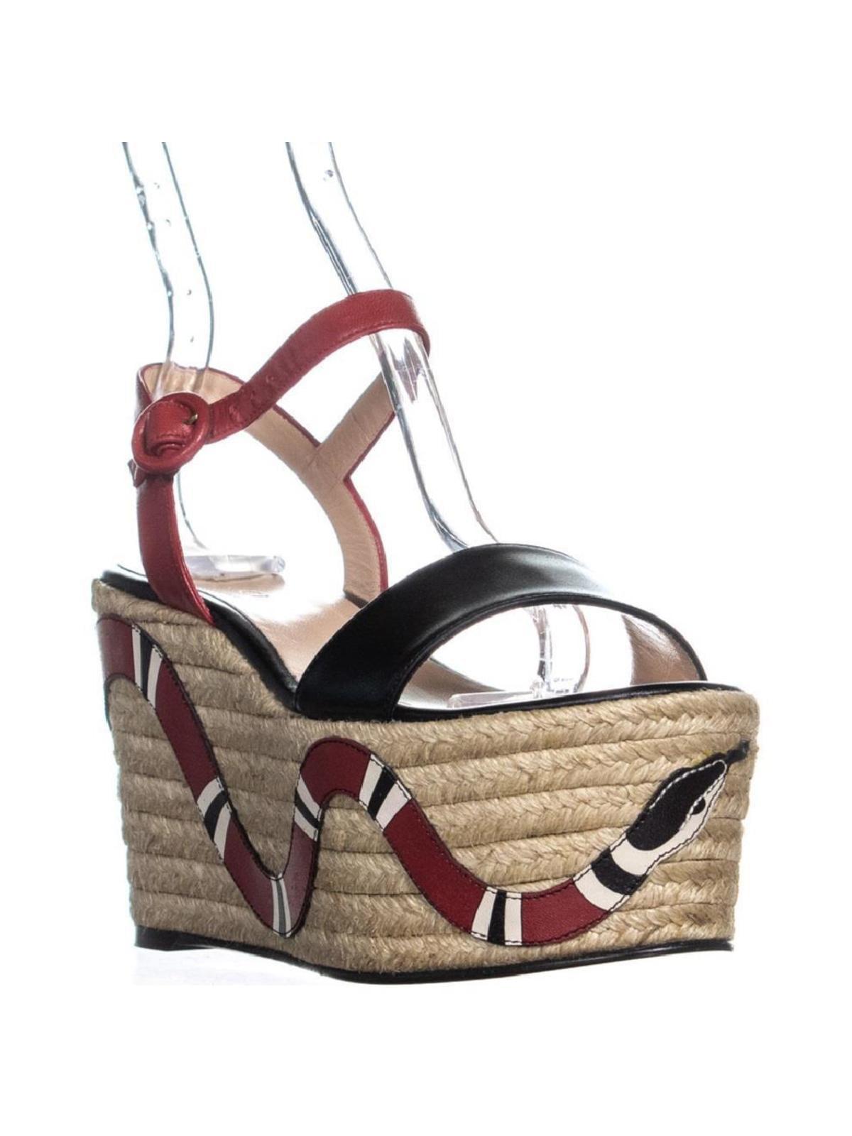 8caa4fd095f8 Gucci 453329C9D10 Platform Wedge Sandals