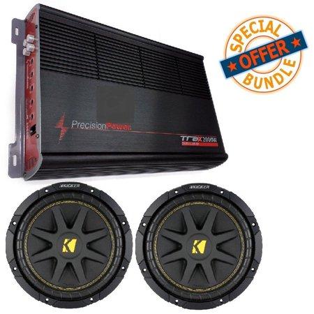 300w Comp Series (Car Amplifier TRAX1.2000D Watts Monoblock w/ (2) 10