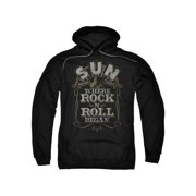 Sun Records Media Company Record Label Where Rock Began Adult Pull-Over Hoodie