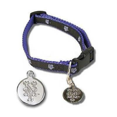 New York Mets Dog Collar Alternate Style - M/L