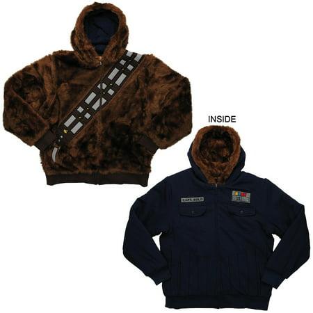 Chewbacca Han Solo Reversible Hoodie](Chewbacca Sweatshirt)