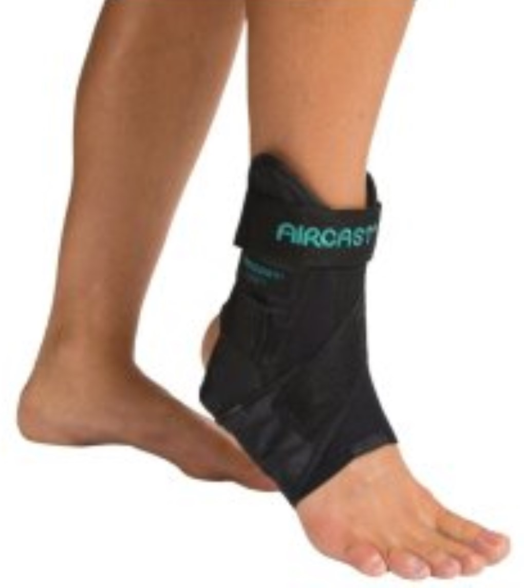 Aircast AirSport Ankle Brace, Left, Small [02MSL] 1 ea