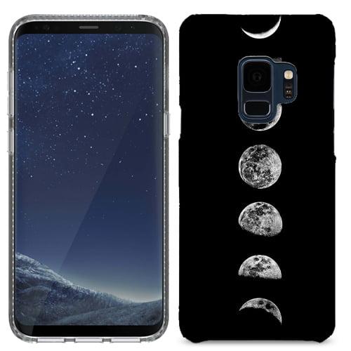 MUNDAZE Moons Case Cover For Samsung Galaxy S9