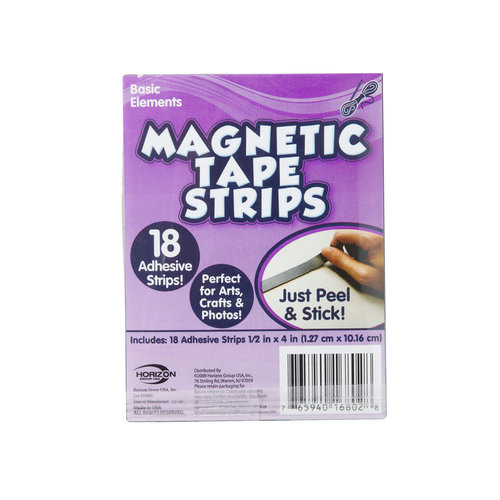 Kids Craft 18pk Magnetic Strips