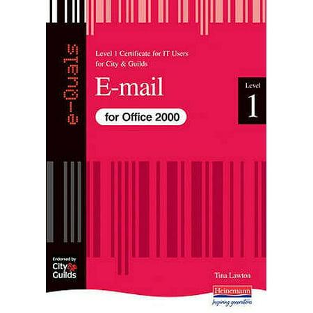 E-mail - It Level 1 Certificate City & Guilds E-Quals (It Certificates)