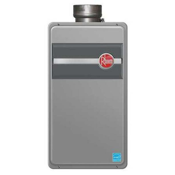 RHEEM Water Heater,Tankless,LP,11K-180K BTU RTG-84DVLP
