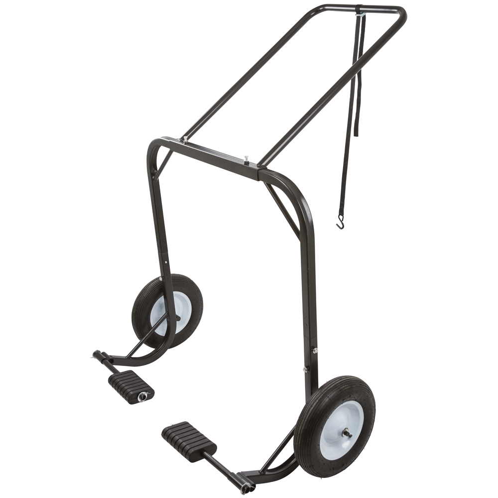 Snowmobile Dolly Cart, Hoist & Lift with Large Pneumatic ...