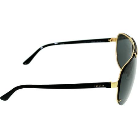 d07853af6215 Versace Men s VE2140-100287-40 Gold Aviator Sunglasses - image 1 ...