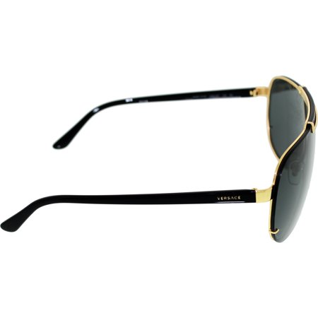 a61fe5ca051b Versace Men s VE2140-100287-40 Gold Aviator Sunglasses - image 1 ...