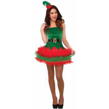 CO-SASSY ELF-XS/S (Halloween Elf Costumes)