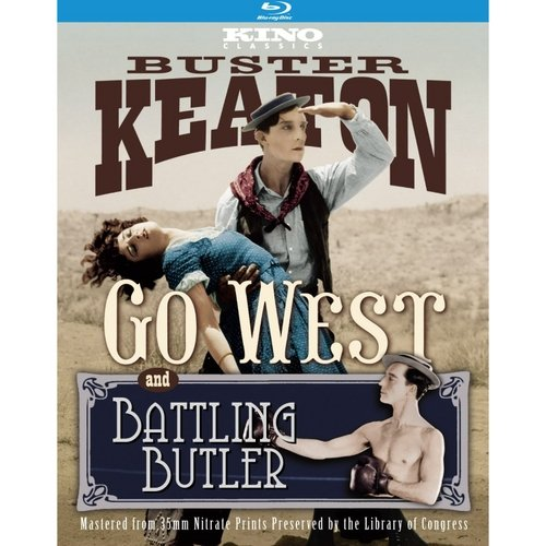 Battling Butler / Go West (Blu-ray)