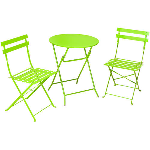 Cosco 3-Piece Folding Bistro Set - Walmart.com
