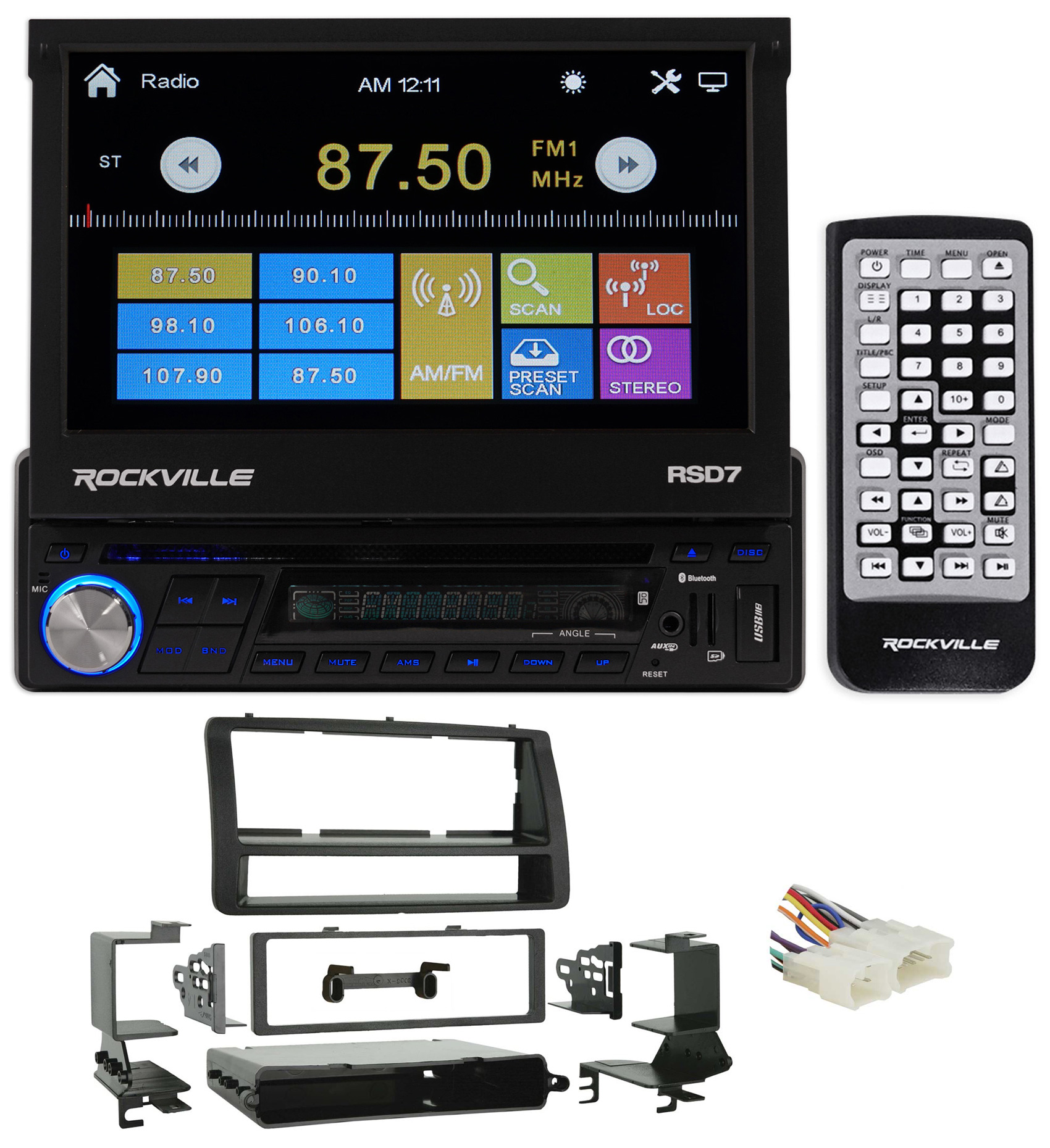 2003-2008 Toyota Corolla DVD Receiver Player, iPhone/Pand...