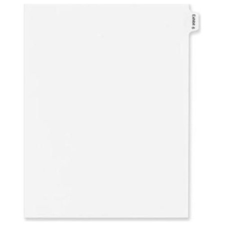 Legal Index Exhibit Dividers (Avery Legal Exhibit Numeric Index Divider 82138)