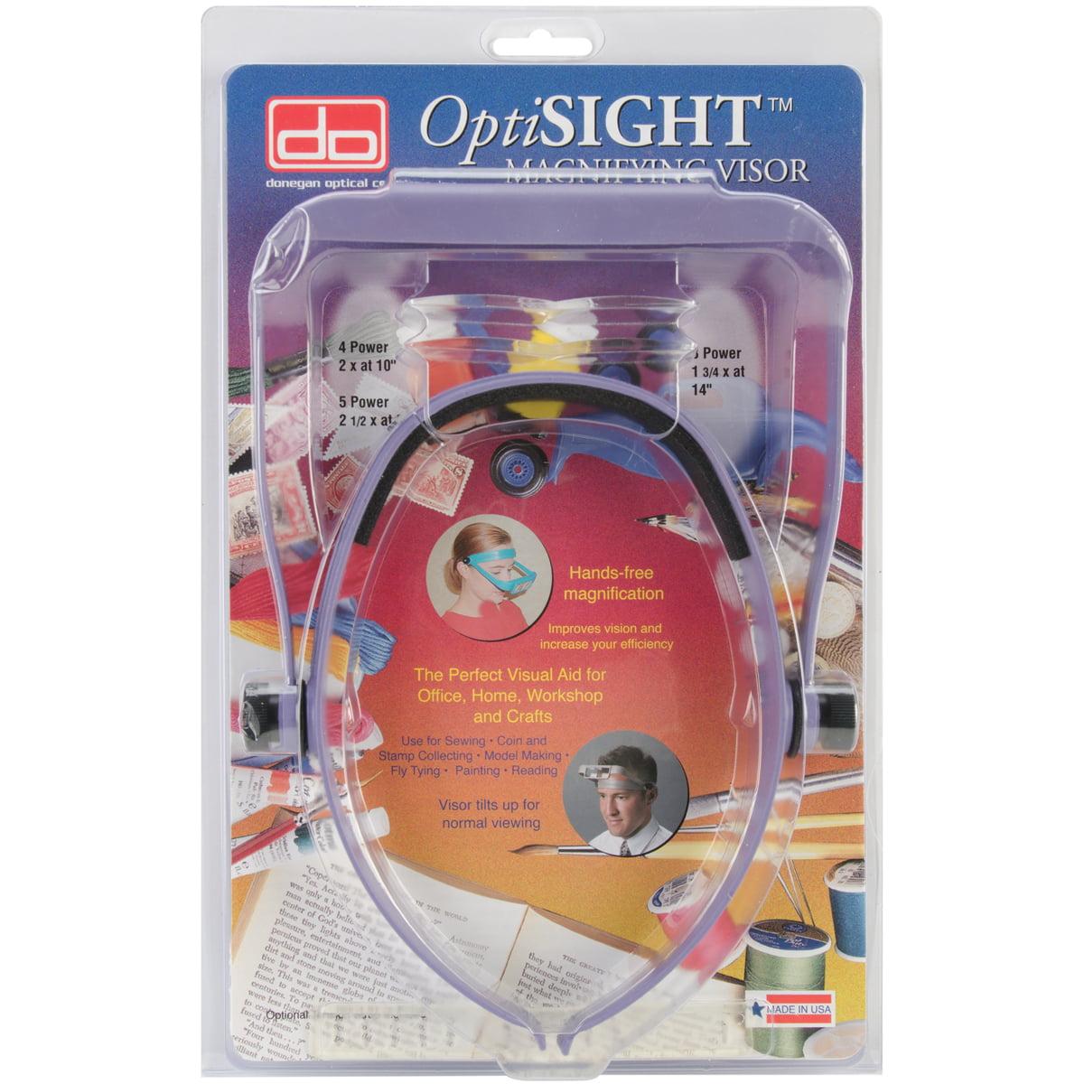 Donegan OptiSIGHT Magnifying Visor-Purple