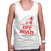 Four Wheeler Off Road Shirt   Funny Redneck Math Mudding Hick Tank Top Shirt