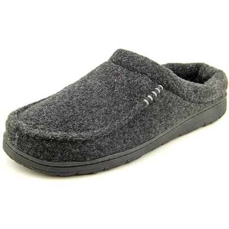 83a3dd45fc0c53 Dearfoams - Dearfoams Mens Memory Foam Slippers- Black