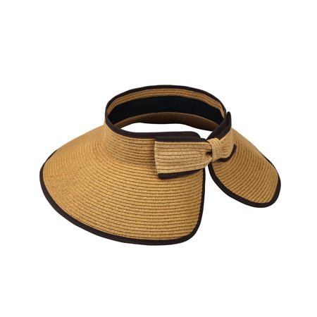 Access Headwear - Sun Styles Joan Ladies Visor Sun Hat - Light Brown -  Walmart.com 7078e5795aa