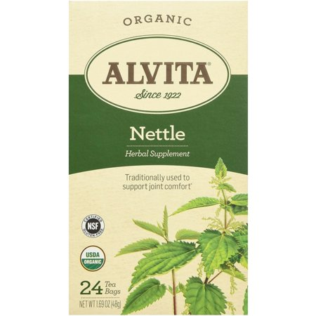 Alvita Organic Nettle Leaf Tea Bags 24 ea (Pack of 3)