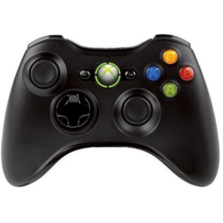 Xbox 360 Wireless Controller Bulk Packaging - Black