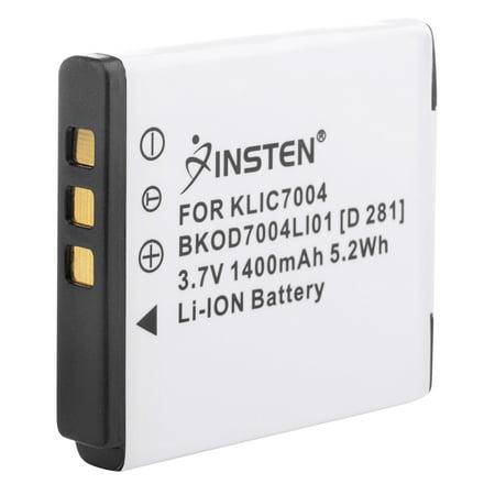 Insten Li-ion Replacement Battery For Kodak PlaySport Video Camera Zx3 / PlayTouch Video Camera / Zi8 / Zx3 Kodak V Cameras V1073 / V1233 / V1253 / V1273 Pentax Optio A36 / a40 / s10 / S12 ()