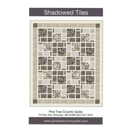 Shadowed Tiles Quilt Pattern by Pine Tree Country Quilts (Doll Quilt Patterns)