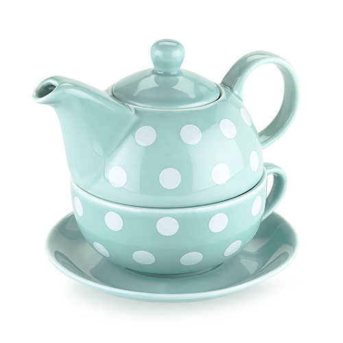 Addison Polka Dot Tea for One Set by Pinky Up
