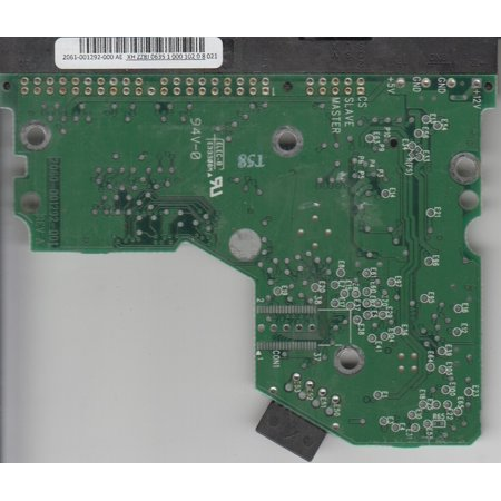 WD800BB-00JHC0, 2061-001292-000 AE, REV A, WD IDE 3.5 PCB