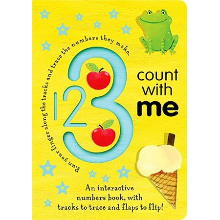 1 2 3 Count with Me (Board Book) (Everyone Counting On Me Drop The Ball)