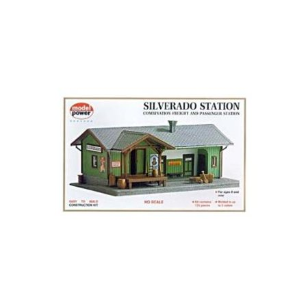 Model Power 605 HO Scale Silverado Station (Model Power Station)