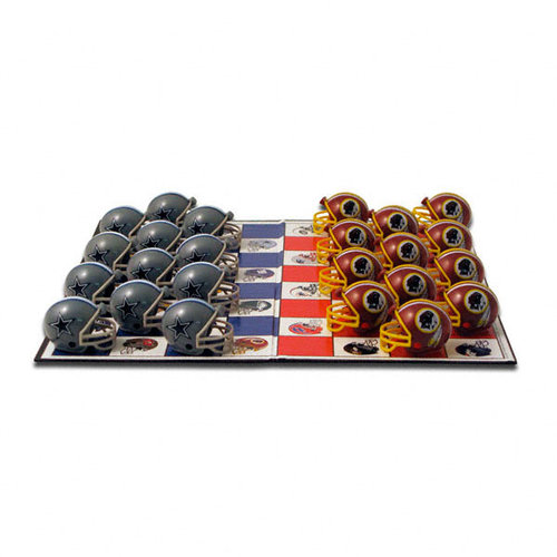 NFL - Dallas Cowboys vs. Washington Redskins Checker Set