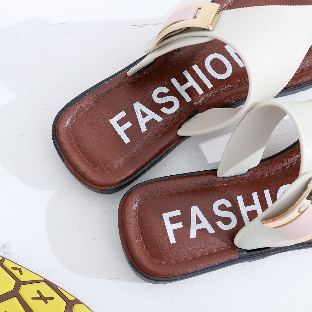Summer Beach Slipper Sandals Home Flat Flip Flops Shoes For Women