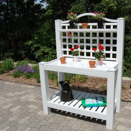 Dura-Trel Vinyl Berkshire Potting Bench