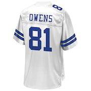 79ad8ce8e40 Men's Dallas Cowboys Terrell Owens FC ENERGY NFL Pro Line White Retired  Team Player Jersey - Walmart.com