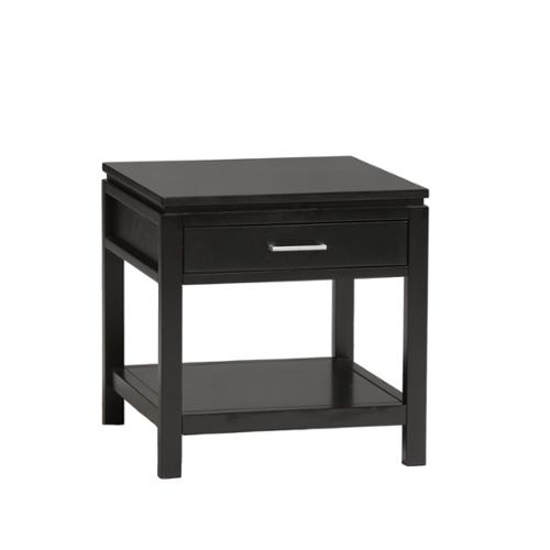 Linon Taylor Contemporary Jet Black End Table